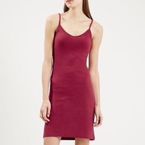 Topshop Red Strappy Bodycon Dress!